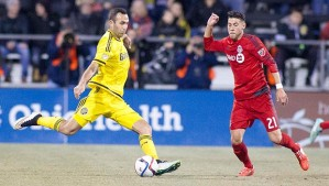 Justin In Action For Columbus Crew SC