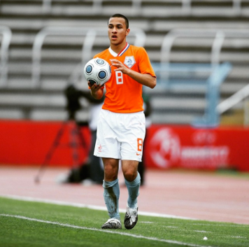 Representing Holland At Youth Level